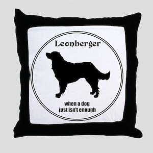Leo Enough Throw Pillow