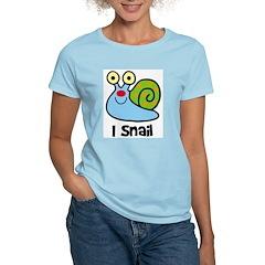 I Snail Women's Light T-Shirt