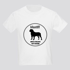 Mastiff Enough Kids T-Shirt
