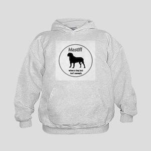 Mastiff Enough Kids Hoodie