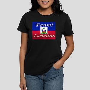 Fanmi Lavalas Women's Dark T-Shirt