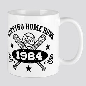 Baseball Birthday 1984 Mug