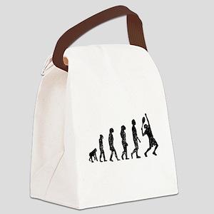 Distressed Tennis Evolution Canvas Lunch Bag