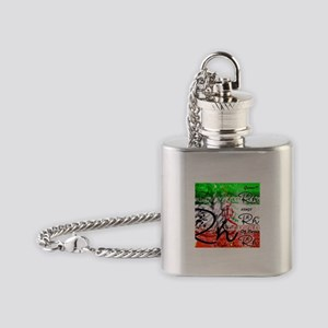 RightOn Kings of Persia Flask Necklace
