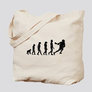 Distressed Lacrosse Evolution Tote Bag