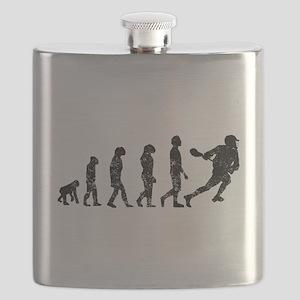 Distressed Lacrosse Evolution Flask