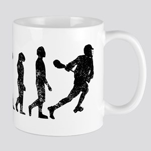 Distressed Lacrosse Evolution Mugs