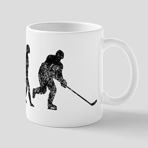 Distressed Hockey Evolution Mugs
