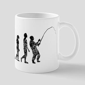 Distressed Fishing Evolution Mugs