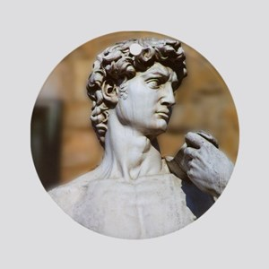 David Round Ornament