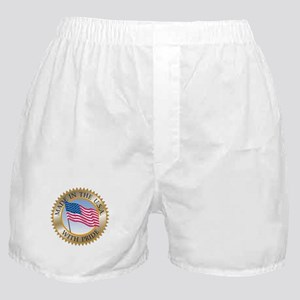 MADE IN THE USA SEAL! Boxer Shorts