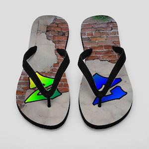 GRAFFITI #1 Z Flip Flops