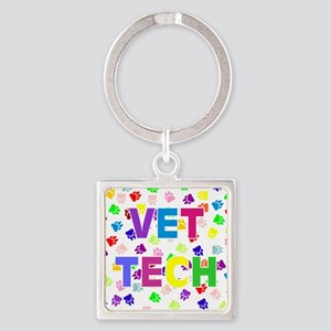 Vet Tech W/Paws Keychains