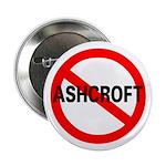 No Ashcroft Pinback Button