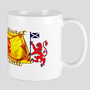 Heart And Soul Scotland Lions Mugs
