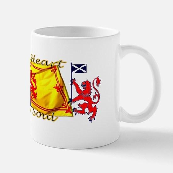 Heart And Soul Scotland Lions Mugs