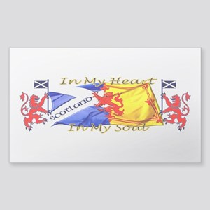 Heart And Soul Scotland Lions Sticker