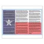 Texan Small Poster