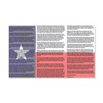 Texan 20x12 Wall Decal