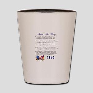 Timeline 1863 Shot Glass