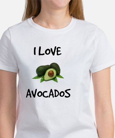 I Love Avocados Women's T-Shirt