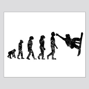 Distressed Snowboarding Evolution Posters