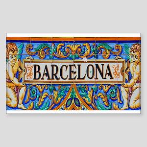 Barcelona Mosaica Sticker