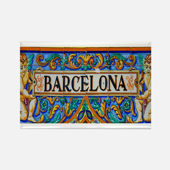 Barcelona Mosaica Magnets