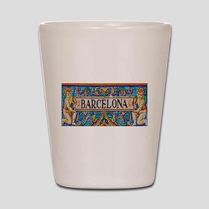 Barcelona Mosaica Shot Glass
