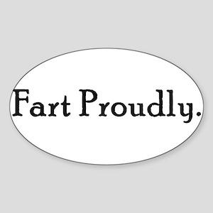 FartProudly Sticker