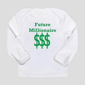 Future Millionaire Long Sleeve T-Shirt