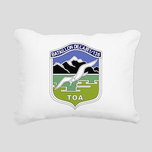 BA 1 136 Rectangular Canvas Pillow