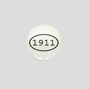 1911 Oval Mini Button