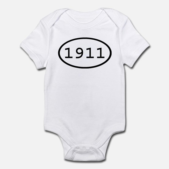 1911 Oval Infant Bodysuit