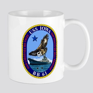 USS Iowa BB-61 Mugs