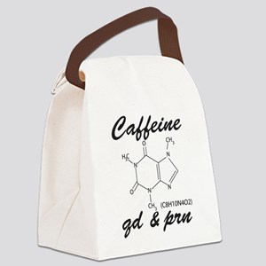 Caffeine QD and PRN Canvas Lunch Bag