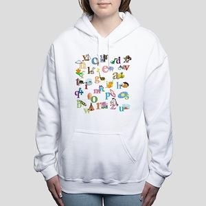J'apprends l'alphabet fr Women's Hooded Sweatshirt