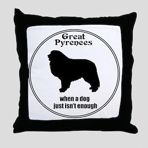 Pyr Enough Throw Pillow