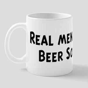 Men eat Beer Soup Mug