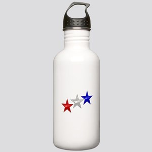 Three Shiny Stars Stainless Water Bottle 1.0L
