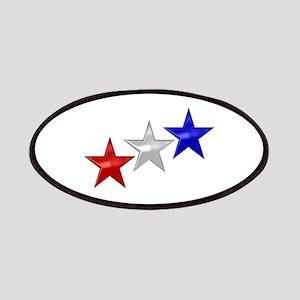 Three Shiny Stars Patches