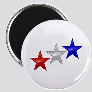 Three Shiny Stars Magnet