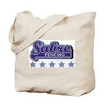 Sabre Fencing Tote Bag