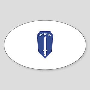 Army Infantry School Sticker