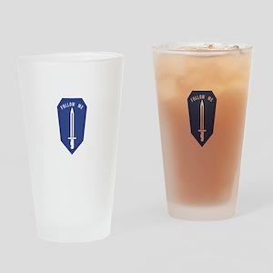 Army Infantry School Drinking Glass