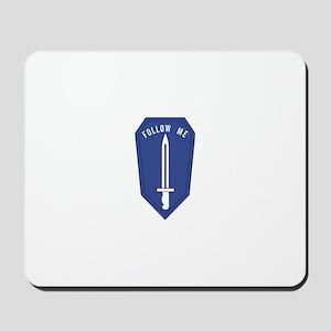 Army Infantry School Mousepad