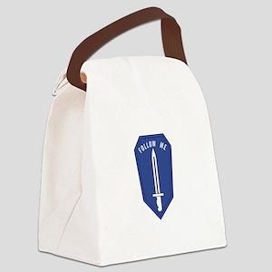 Army Infantry School Canvas Lunch Bag