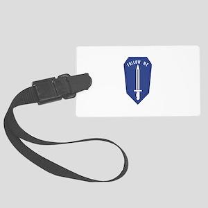 Army Infantry School Luggage Tag
