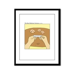 Fortune cookie Framed Panel Print
