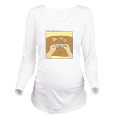 Fortune cookie Long Sleeve Maternity T-Shirt